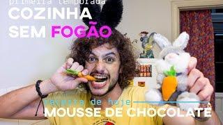 Mousse de Chocolate de Páscoa| Mohamad Hindi