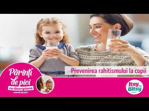 Prevenirea rahitismului la copii