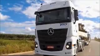 Mercedes-Benz Caminhões | Actros e as Máquinas Pesadas