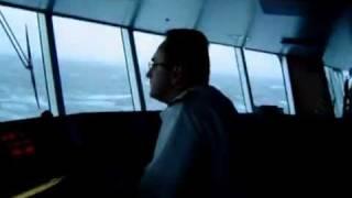 Huge wave crash a ship  Sheeeeet!!!