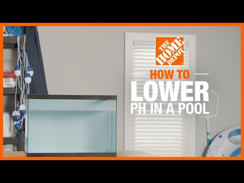 How to Lower pH in a Pool