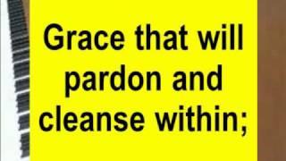 Grace Greater Than Our Sin (Grace, grace, God's grace)