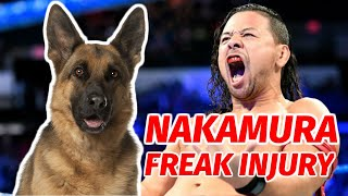 Shinsuke Nakamura Misses WWE SmackDown Due To Freak Injury