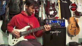 Schecter - Omen 8 - D-Music Guitar Test
