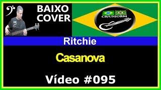 Ritchie - Casanova (no BAIXO com Tablatura) bass cover tab