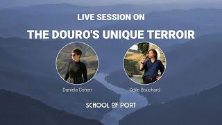 School of Port's live session on 'The Douro's unique terroir' with Odile Bouchard & Daniela Cohen