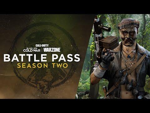 WTFF::: Black Ops Cold War Warzone Season Two Battle Pass Unlocks Detailed