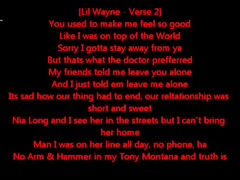Lil Wayne Novacane Lyrics On Screen Ft Kevin Rudolf + Download ...