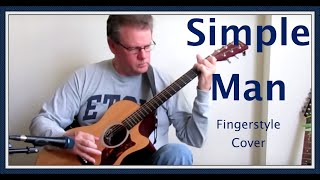 (Lynyrd Skynyrd)  Simple Man, Fingerstyle Cover