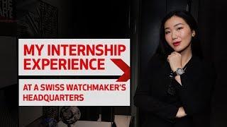 My Hospitality Internship With A Luxury Swiss Watchmaker