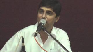 Ghazal - Uday Shah - hoy kain ne aankhane dekhay kain.wmv