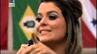 Ana Paula Valadão canta trecho de sucesso de Leandro e Leonardo