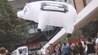 "Roger Waters ""Is This The Life We Really Want?"" – Street Promotion in Berlin, Juni 2017"