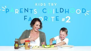 Kids Try Their Parents' Favorite Childhood Foods Part 2   Kids Try   HiHo Kids