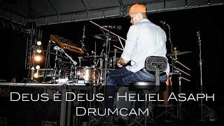Deus é Deus - Delino Marçal (Drum Cam) Welisson Kaio