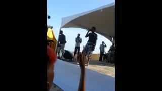 RAEVON Performing live PIGEON POINT_TOBAGO_Oct2014
