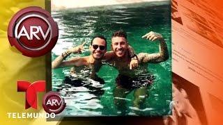 Marc Anthony y Sergio Ramos se la pasan en grande   Al Rojo Vivo   Telemundo