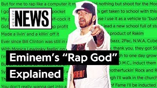 "Looking Back At Eminem's ""Rap God"" 