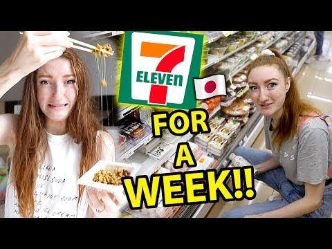 Download Video I ONLY ATE FOOD FROM 7-ELEVEN IN JAPAN FOR A WEEK!!! Convenience Store Challenge In Tokyo 2019