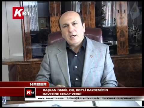 İsmail Ok BDP'li Baydemir'in Davetine Cevap Verdi