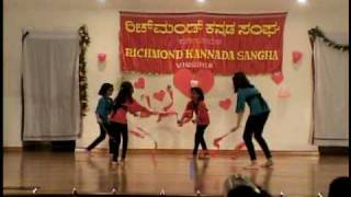 RKS Deepavali09 Kids dance width=