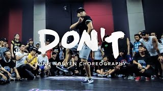 Don't - Bryson Tiller | Vinh Nguyen Choreography | Summer Jam Dance Camp 2016