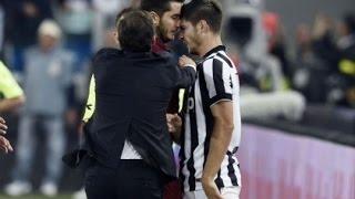 Risse nel calcio - Best Football Fights - Roma Juventus Inter Napoli  Milan Sampdoria Palermo