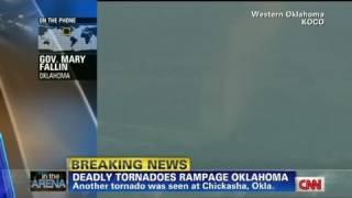 CNN: Oklahoma governor warns 'take cover'