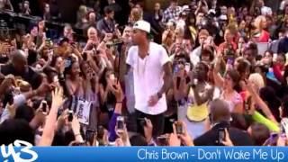 Chris Brown - Don't Wake Me Up (Live 2012)