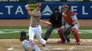 STL@CIN: Gennett goes deep four times vs. Cardinals