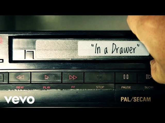"Vídeo de ""In a Drawer"" de Band of Horses (lyric video)"
