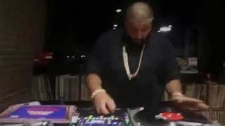 DJ KHALED RIPPING DOWN THE TURNTABLES