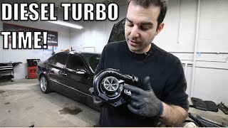 I Installed A Bigger Turbo On My Turbo Diesel Mercedes & It's Awesome!