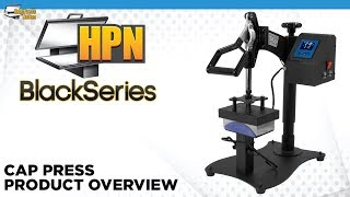 HPN Black Series Cap Press Heat Transfer Machine - HeatPressNation.com