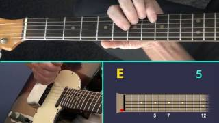 Heatwave Blues - A Guitar Lesson with Animated Fretboard.