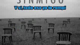 Jose madero - sinmigo (karaoke)