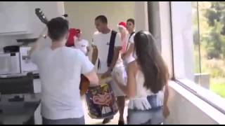 A musica do natal em ritimo de samba !!!!
