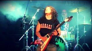 Charlie Parra live guitar solo / solo de guitarra en vivo (M.A.S.A.C.R.E - Arequipa)