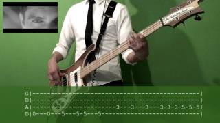 Panic! At The Disco: Death of a Bachelor Bass Cover with TAB