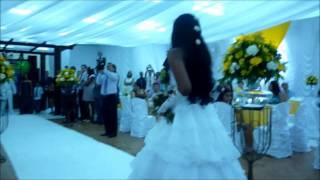 casamento cantando Que bom voce chegou
