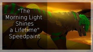 The Morning Light Shines a Lifetime - Fursona Speedpaint
