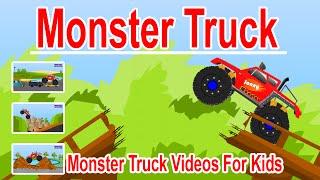 Monster Trucks for Children | Monster Truck Cartoons for Children | Toy Trucks for Kids