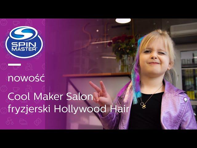Tosia poleca: jak zrobić KOLOROWE fryzury ✨😂 z Cool Maker Salon fryzjerski Hollywood Hair 🌈