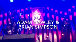 Adam Hawley & Brian Simpson at Java Jazz 2017