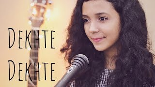 Dekhte Dekhte ( Cover )   Female Version   Batti Gul Meter Chalu   Shreya Karmakar   Atif Aslam