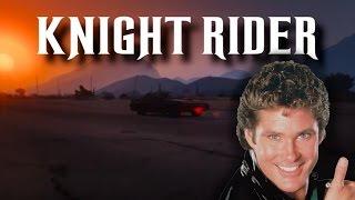 Grand Theft Auto 5 - Knight Rider Intro - Ruiner 2000 Kitt Car