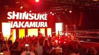 Nxt takeover Shinsuke Nakamura's live intro