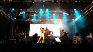 La Yegros no 7° Festival Contato #entresembater