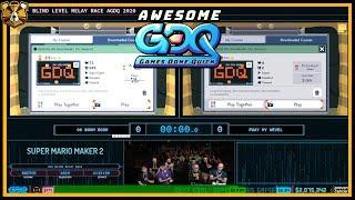Super Mario Maker 2 by CarlSagan42, Ryukahr, GrandPooBear, BarbarousKing, and More! - AGDQ2020