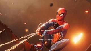 Spider Man Ps4 2018 Cut Scene - Spider-Man Saves Aunt May